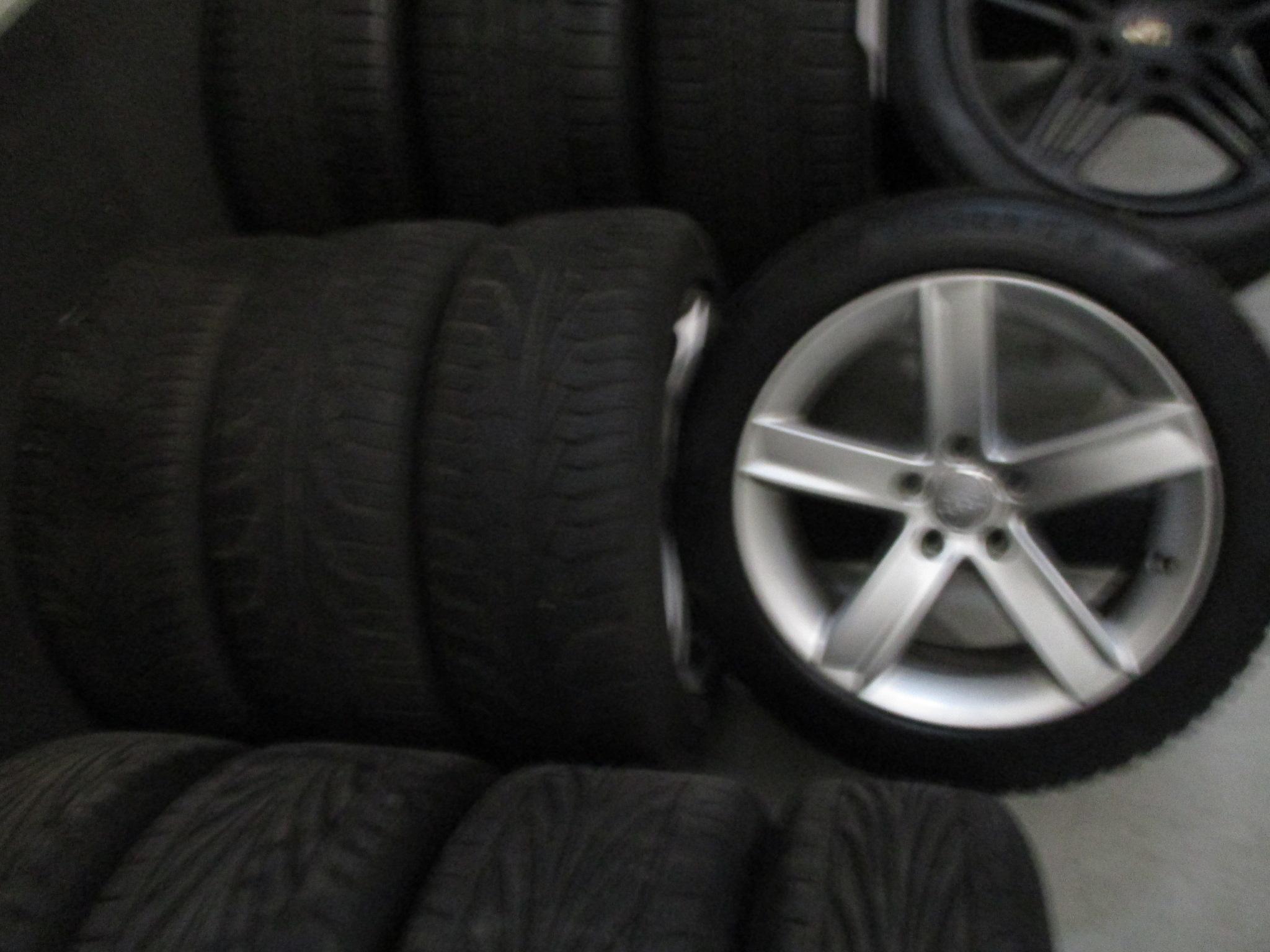 Audi Originele Velgen Winterbanden 17 Inch Continental